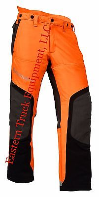 Husqvarna HI VIZ Technical Saw Protective Pants Chain Saw Protection Orange S