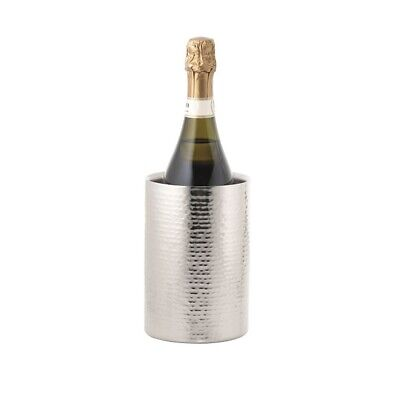 New Cellar Premium Hammered Double Wall Wine Cooler 18cm