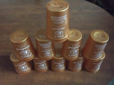 (Lot of 10) Tito's Vodka Copper Plastic Cups 12 oz cups (NEW)