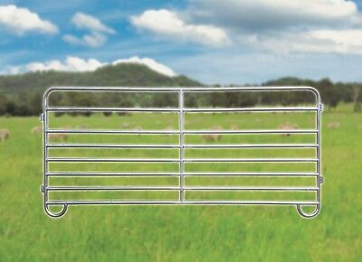 NEW Sheep Yard Panels 2.1m Long 1m High Locking Pins 8 x Rails Freight Available