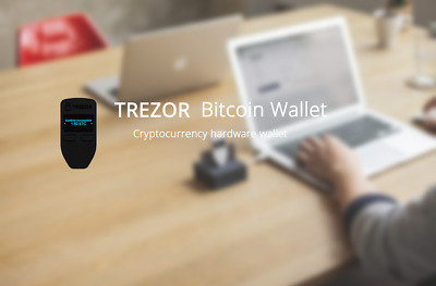 TREZOR Bitcoin Wallet - FREE AU EXPRESS POST + Track + SOD