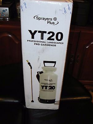 Sprayer Plus Commercial Landscape/Building Chemical and Pest Spray Tank 2 gallon