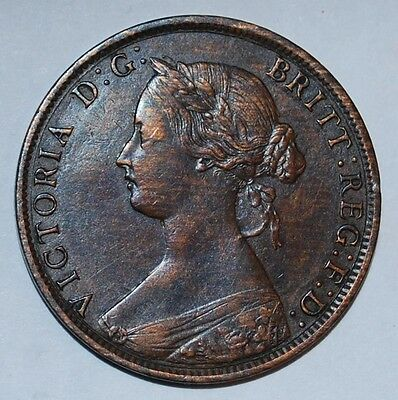 1862 Nova Scotia One Cent ----m66
