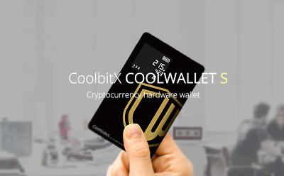 COOLWALLET S Wireless Bitcoin Wallet - FREE AU EXPRESS POST + Track + SOD