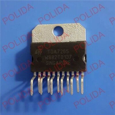 1Pcs Stereo Amplifier Ic St Zip-11 Tda7265