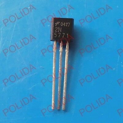 2N5771 Fairchild Switching Transistor PNP 15V 0.2A TO-92 FAST FREE SHIP USA 5pcs
