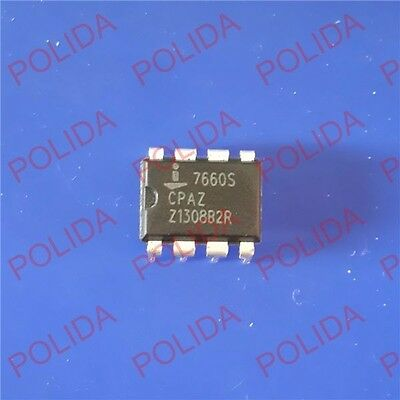 50PCS CMOS Voltage Converter IC INTERSIL DIP-8 ICL7660SCPAZ ICL7660S
