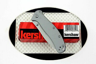 * 1730SS Kershaw Zing SS folding pocket knife frame lock assisted opener NEW