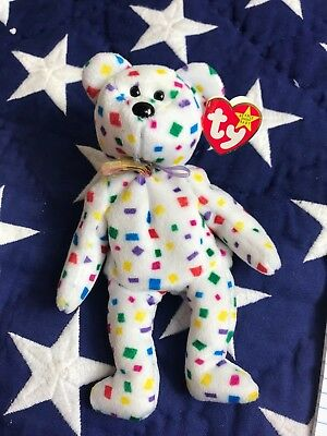 "TY Beanie Babies ""TY 2K"" the Y2K Millennium Teddy Bear MWMTs! MUST HAVE! RETIRED"