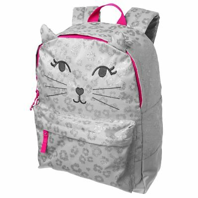 NWT Gymboree Girl backpack Sparkle Kitty Uniform Shop