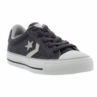 Converse Star Player Ox Graphite Oyster Unisex Mens UK 8 EUR 41.5/Womens UK 10