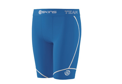 NEW RELEASE || Skins DNAmic Team Youth Compression Half Tights (Royal Blue)