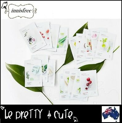 INNISFREE My Real Squeeze Mask Sheet 18 Types Face Mask NEW 2018