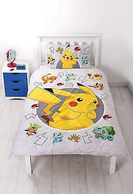 Pokemon Catch - Single Panel Duvet /homeware | Brand New | Free Delivery