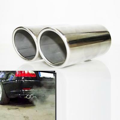 Sport Exhaust Tip Pipe For BMW 3 series E90 92 316 318 320 323 328 325 330