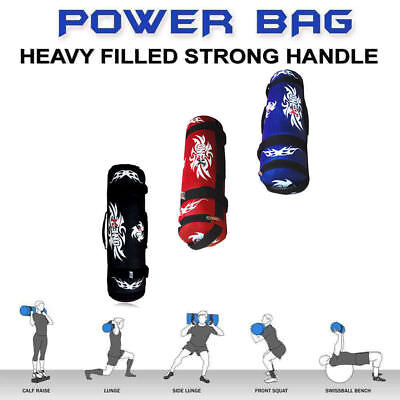 Onex Weighted Training Bag Fitness Power Sand bags Handles Weight Lifting Bag