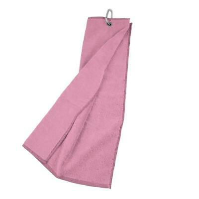 Masters Tri-Fold Velour Handtuch - pink -