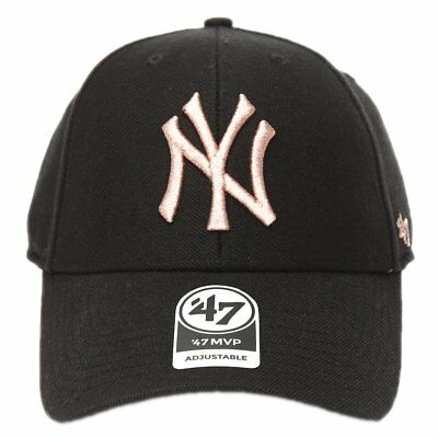 Cappellino 47 Brand Mlb New York Yankees Mvp Ajustable Curved V Struct fit  Metal 62d33e32bcff