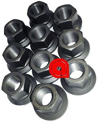 Flanged Wheel Nut M22x1.5 Replaces E-6000A, SKBAWA-B000 H-13104 Lot of 10 pcs