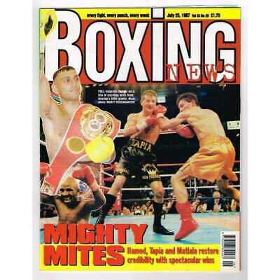 Boxing News Magazine July 25 1997 Mbox3145/C  Vol 53 No.29 Mighty Mites Hamed, T