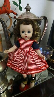1950S MA Madame Alexander Alexander-kin WENDY KIN BKW DOLL in Tagged Outfit 1529