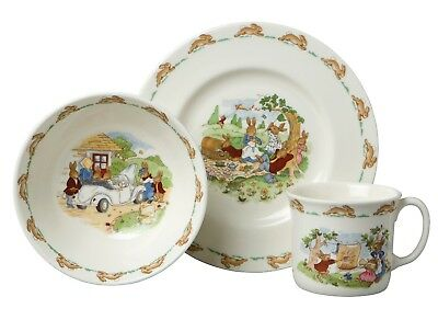 New Royal Doulton - Bunnykins 3 Piece Child Set EASTER special!