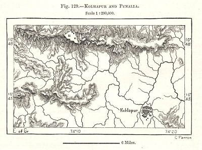 Ethiopia Sketch map 1885 old antique vintage plan chart Adua and Aksum