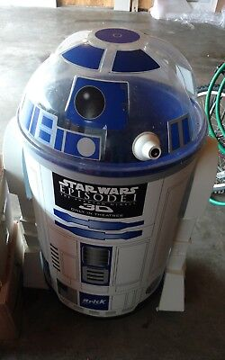 """R2D2 Cooler Episode 1 44"""" tall 30"""" wide Pepsi Great for Parties Loc PU Missouri"""