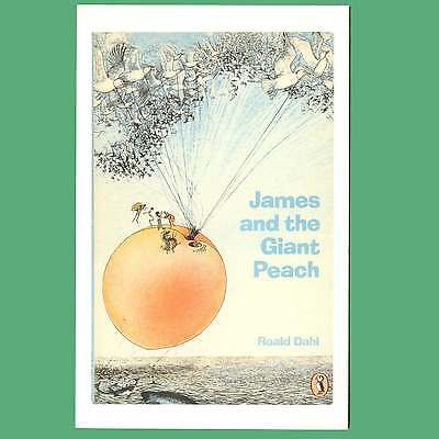 Postcard - James and the Giant Peach - A Puffin Book Cover Postcard