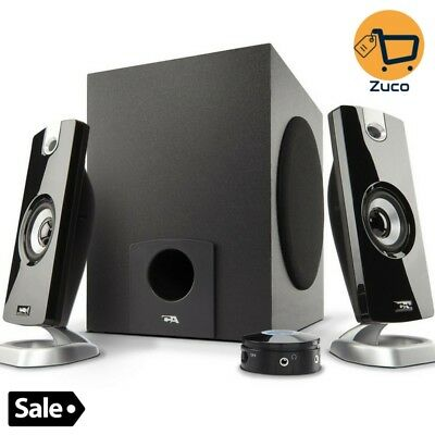 Computer Gaming Speaker Subwoofer Set For Multimedia Laptop Pc Music System New