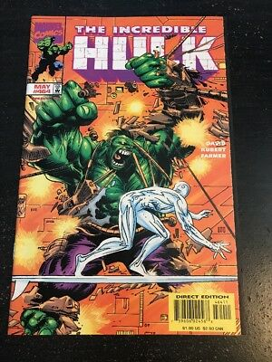 Incredible Hulk#474 Incredible Condition 9.0(1998) Silver Surfer App!!