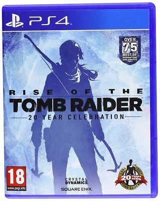 Rise of the Tomb Raider 20 Year Celebration PS4 New and Sealed