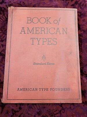American Type Founders-Book of American Types-1934 Illustrated