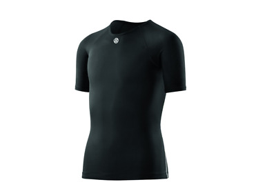 NEW RELEASE || Skins DNAmic Team Youth Compression Short Sleeve Top (Black)
