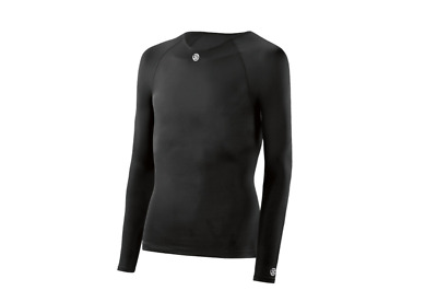 NEW RELEASE || Skins DNAmic Team Youth Compression Long Sleeve Top (Black)