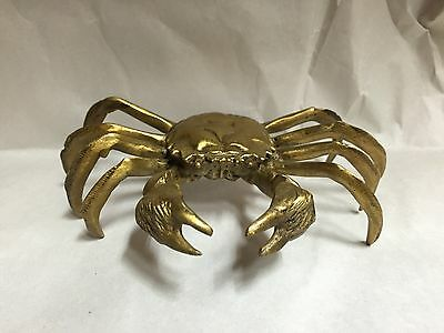 Solid Brass Crab