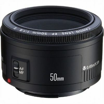 Canon EF 50mm f/1.8 Lens - BNIB - Genuine Canon Product