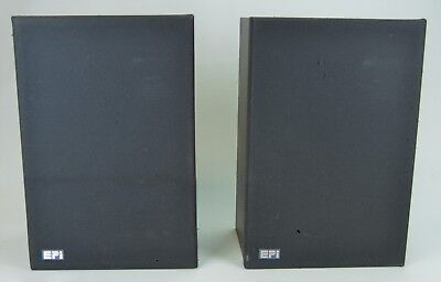 Vintage 1970's EPI Stereo Speakers Pair Epicure Products Model 70 Tested