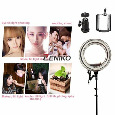 "18"" 48W 5800LM Camera Photography 480pcs LED Video Photo Ring Light Kit 5600K"