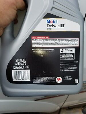 Mobil Delvac Syn ATF, gallon 122062, Red........ 35 available, synthetic ,fluid