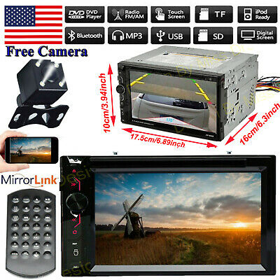 For Chrysler Town&Country 200 300 Sebring Car DVD Radio Bluetooth Stereo+Camera