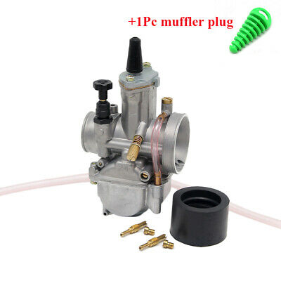 KOSO OKO PWK 24mm Cable Choke Carb Carburetor For Bike Motorcycle ATV Scooter