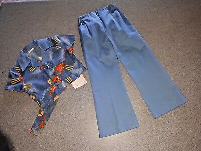 Brand New With Tags Vintage Girls Pants & Top Set.