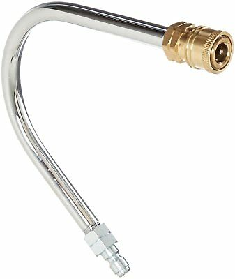 BE Pressure 85.400.007 Washer Gutter Cleaner Attachment, 4000 PSI, Chrome/Brass