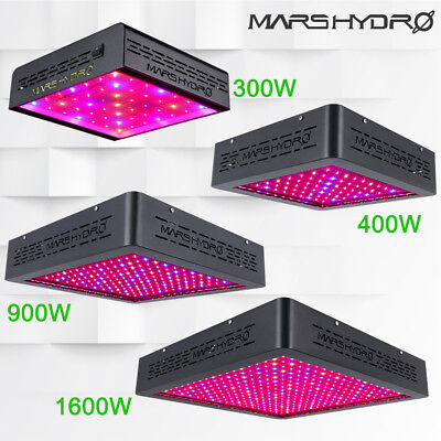 Mars Hydro 300W-1600W LED Grow Light coltiva la luce Spettro completo VEG BLOOM