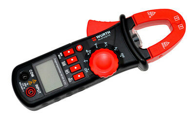 Würth Digitales Zangenamperemeter AM 600 AC/DC, Digitales STROMZANG-AC/DC-600A