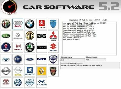 Car Software v5.2 immo egr