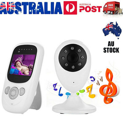 2.4 LCD Baby Monitor Wireless Digital Audio Video Camera Security Night Vision