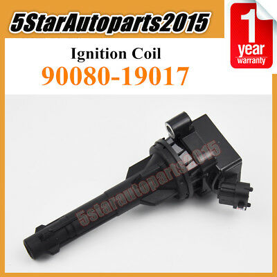 New Ignition Coil 90080-19017 For 99-01 Toyota Corolla SED/WG HB/LB ZZE111 4ZZFE