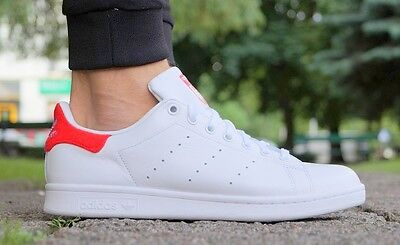 f1286f433e45 NEW Shoes Adidas Stan Smith Men s Sneaker Gym Shoe Leather Exclusive bz0482